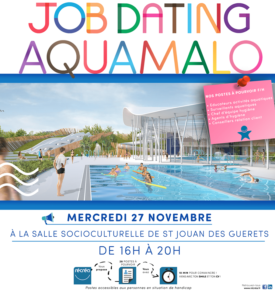 Un « Job dating » en novembre pour composer l'équipe AquaMalo